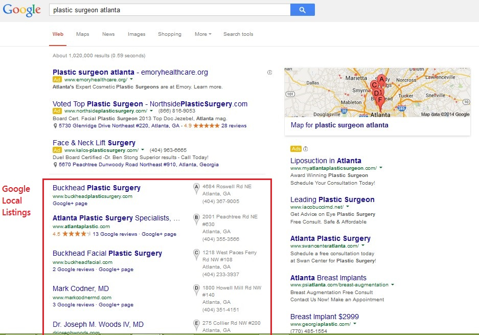Google Local SEO Site Audit