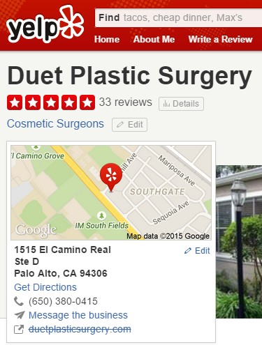 Plastic Surgeon Listing