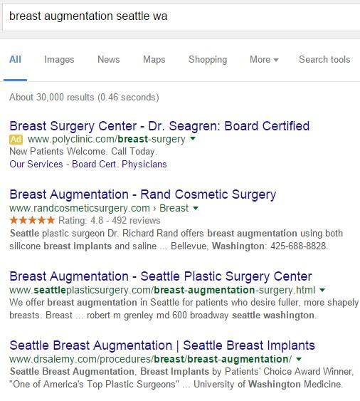 local organic seo surgeons